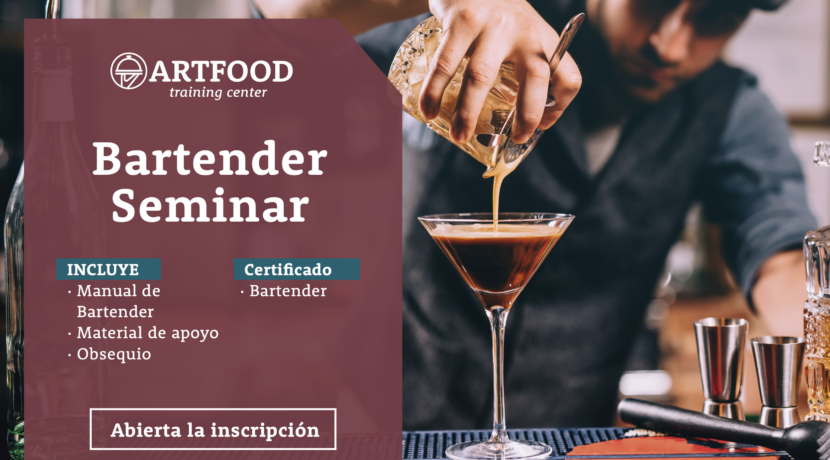 Bartending Seminar OPEN NOW!